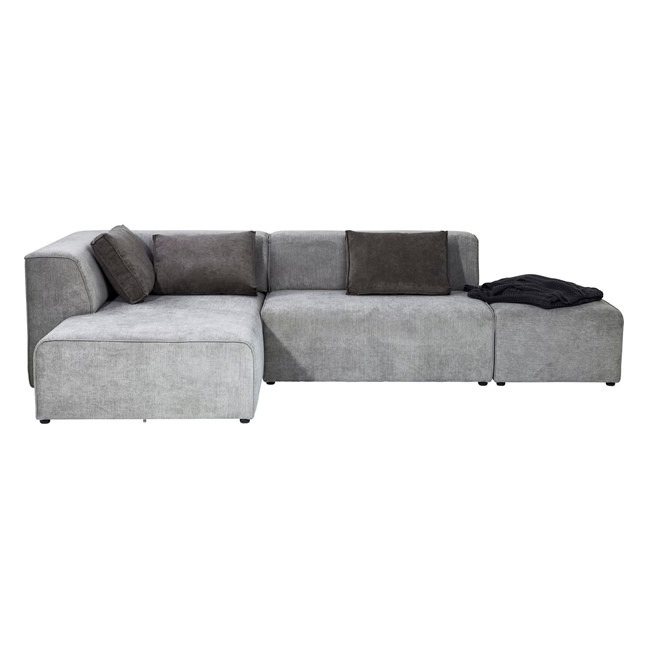 KARE DESIGN Sofa Infinity Otoman Left Grey