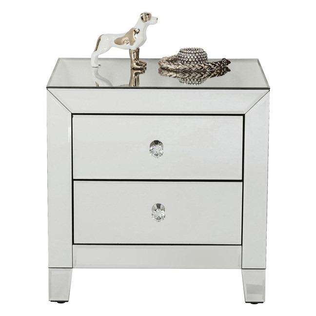 Noční stolek Luxury se dvěma zásuvkami Kare Design