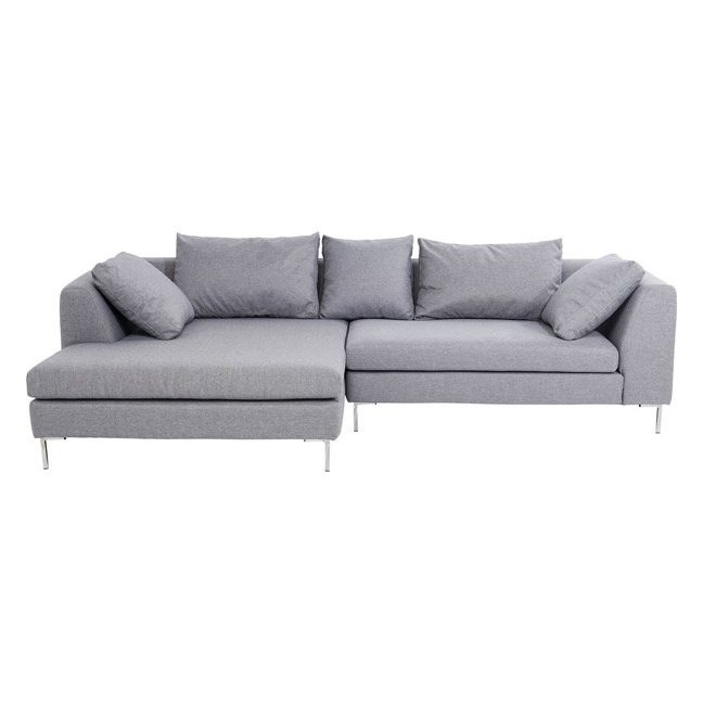 KARE DESIGN Sofa Bruno Panini Grey Left