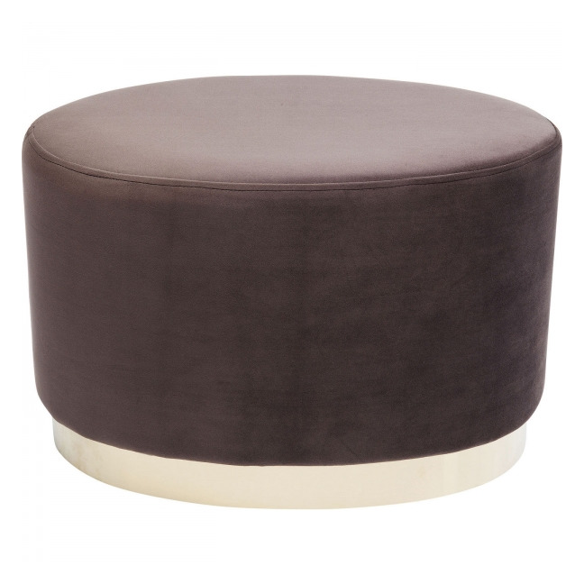 KARE DESIGN Stolička Cherry Eclipse Brown Brass