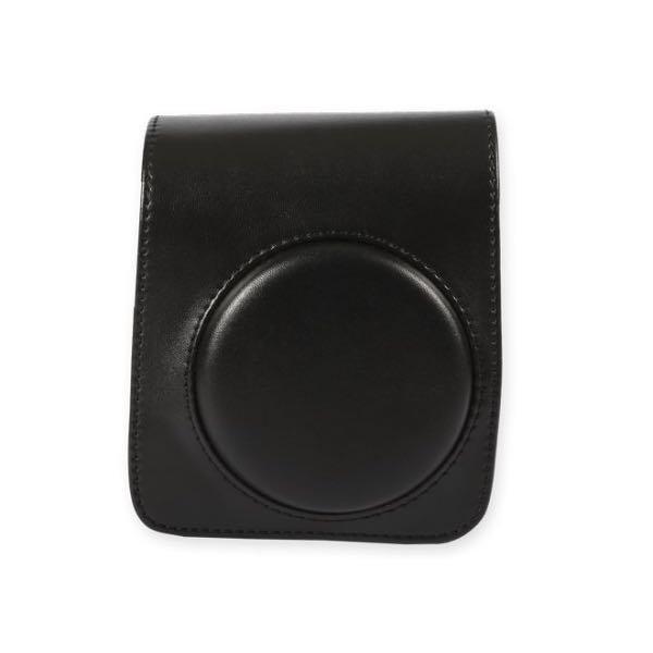 Černý kožený obal na Instax Mini 9