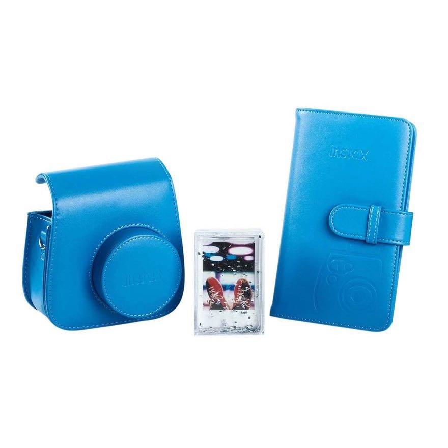 Sada doplňků k Instax Mini 9 modrá