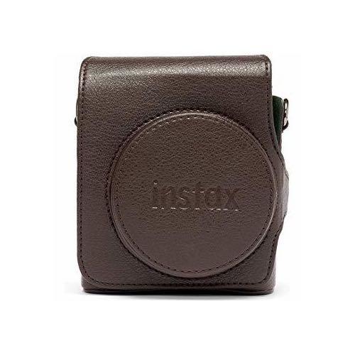 Hnědý kožený obal na Instax Mini 90