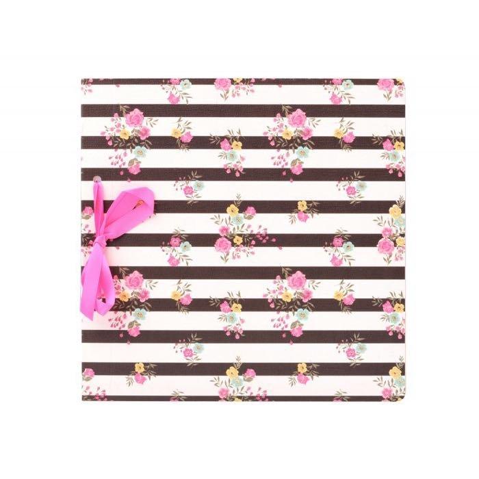 Dárková karta Scrapbook Flowers