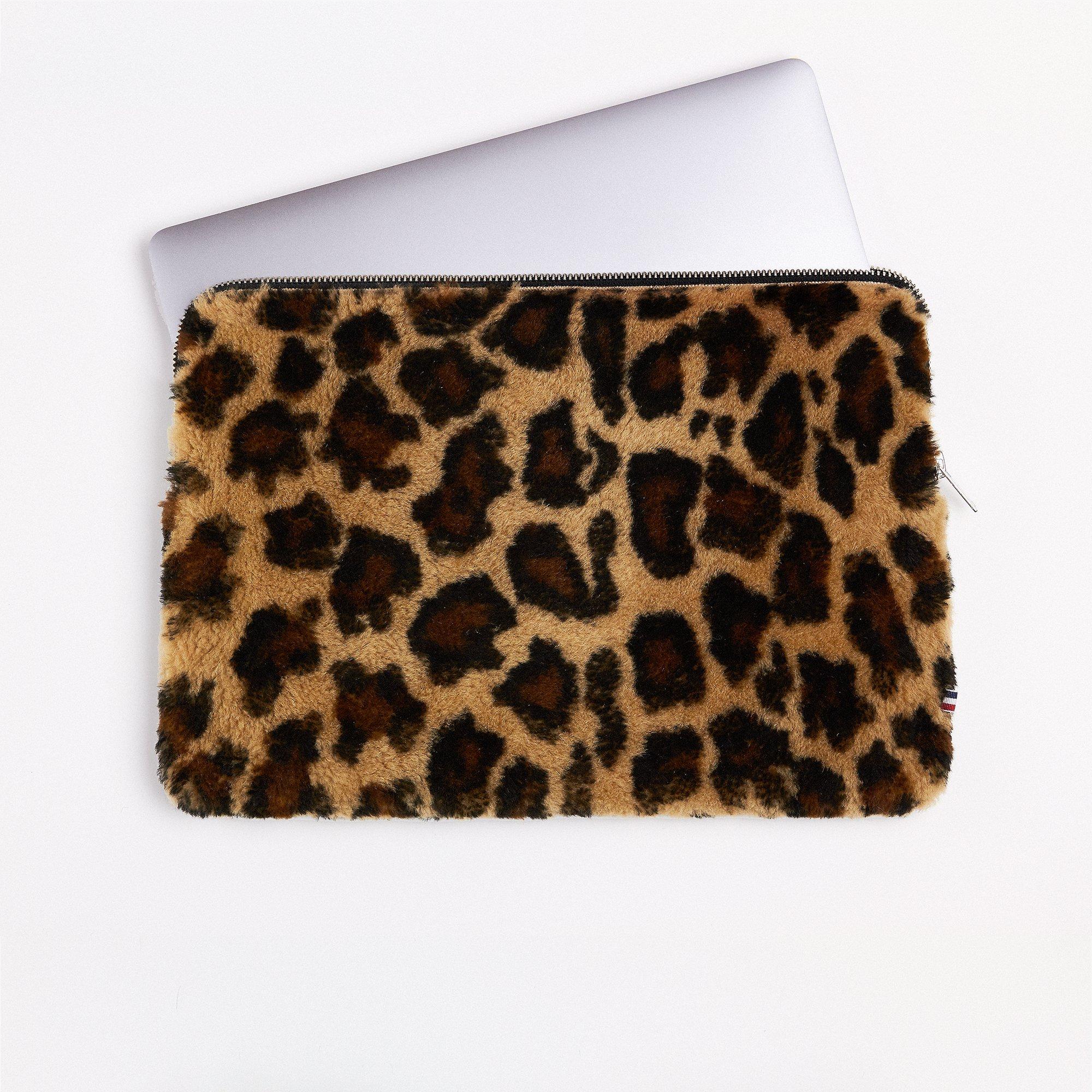 "Merino leopardí obal na laptop 13"""