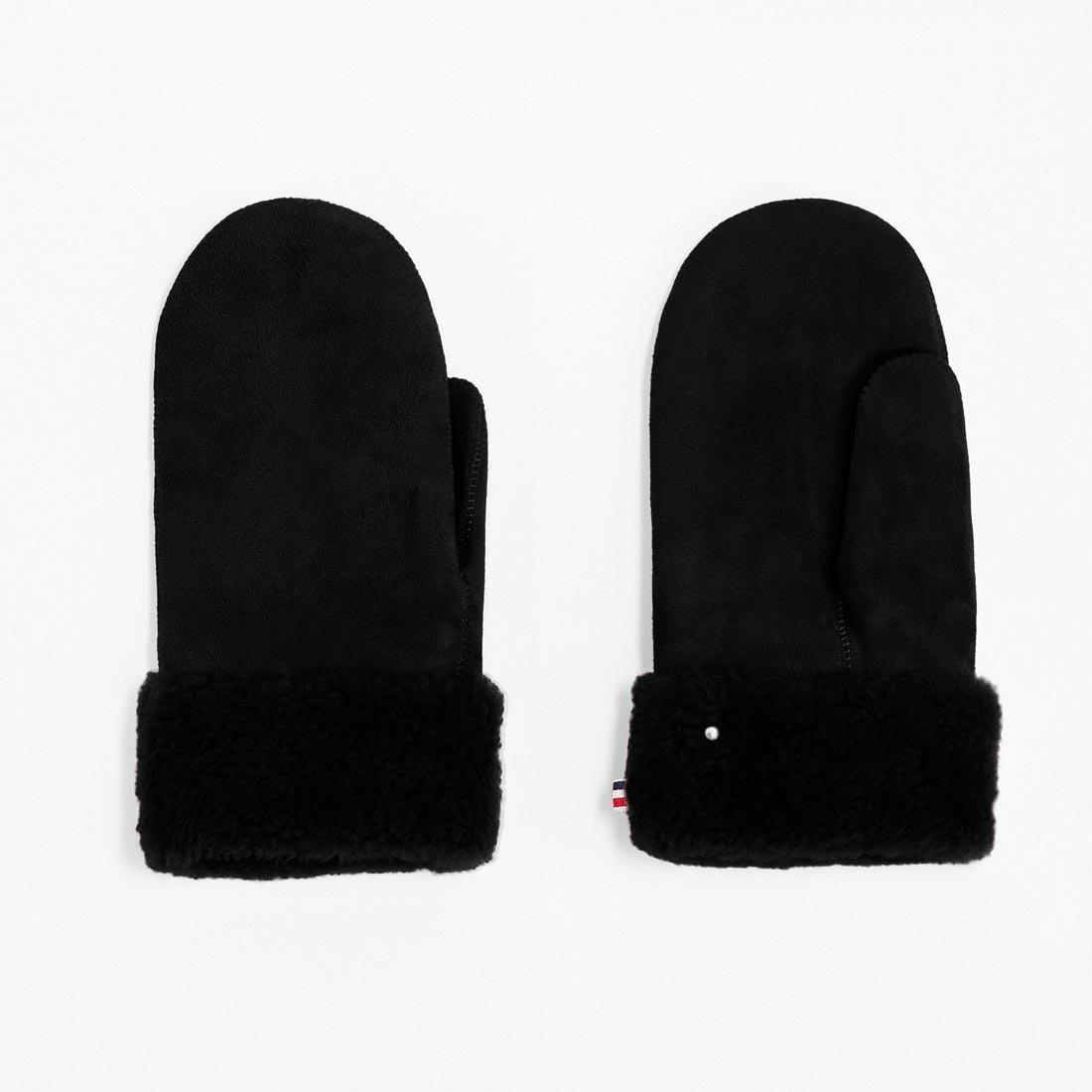 Merino černé palčáky