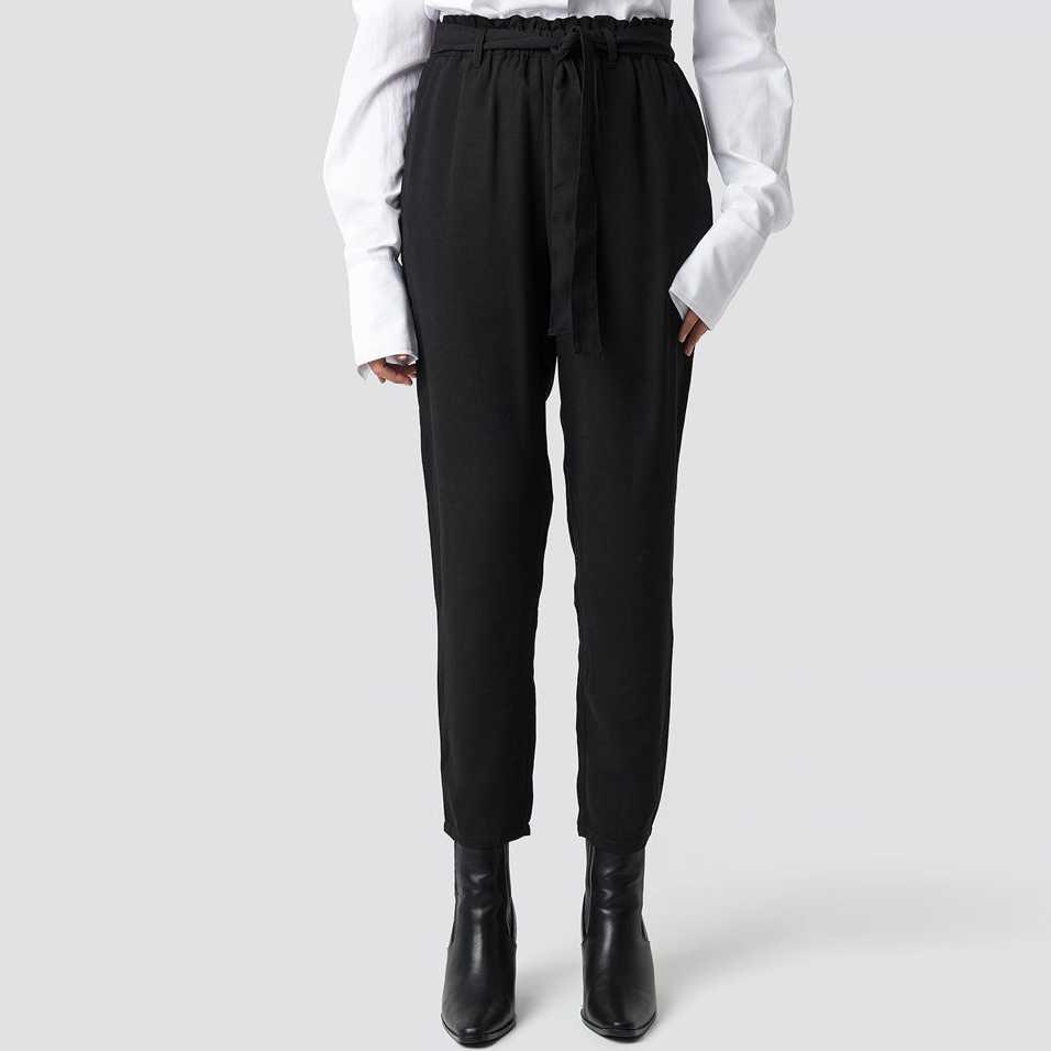 Cerne sukne s vysokym pasem levně  c3addd21bd