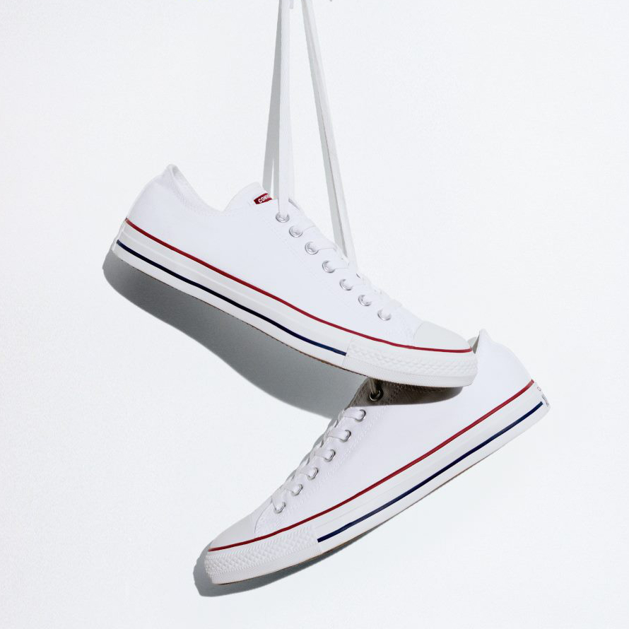 CONVERSE Chuck Taylor All Star: Optical White – 42, bílá