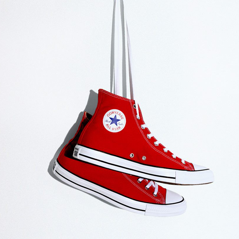 Chuck Taylor All Star Hi: Red – 43