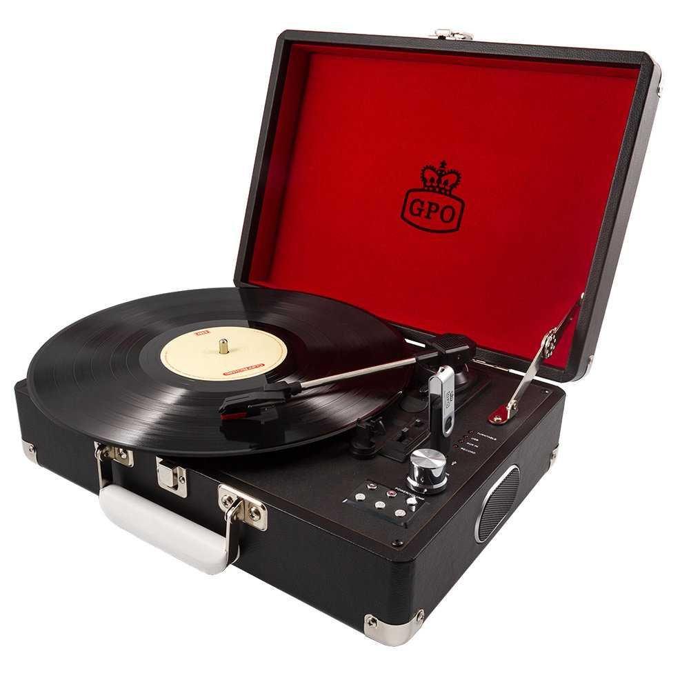 Gramofon Attache Black
