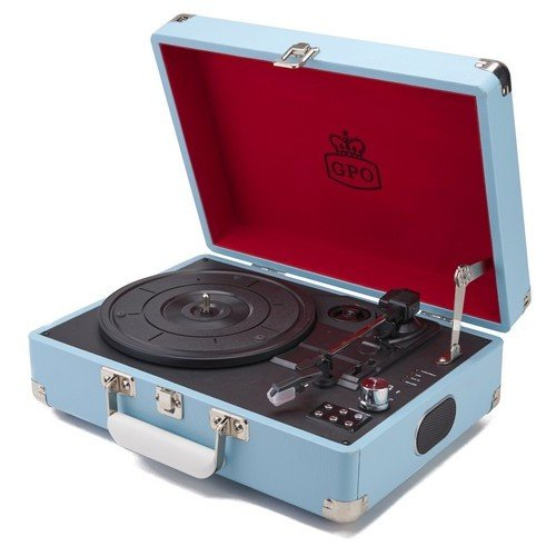 Gramofon Attache Blue
