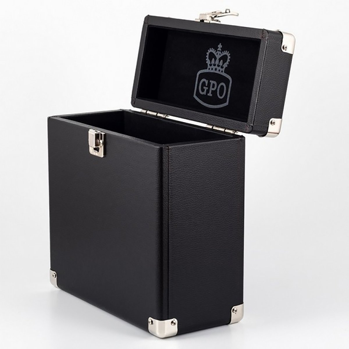 Box Vinylové desky Case Black