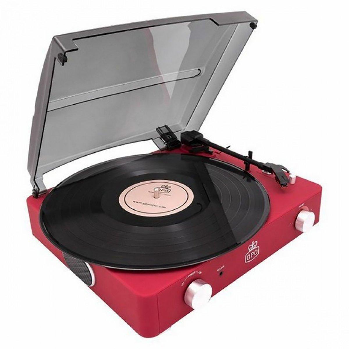 Gramofon Stylo II Red