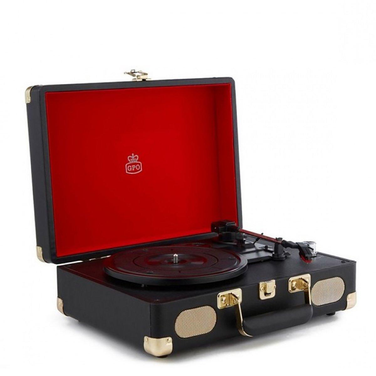 Gramofon Soho Black