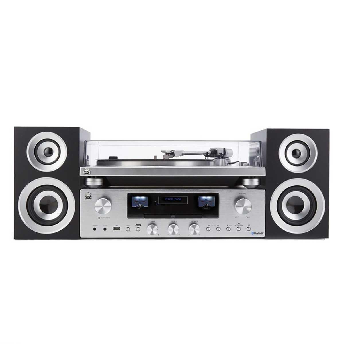 Gramofon a audio systém PR 100/200 Bundle