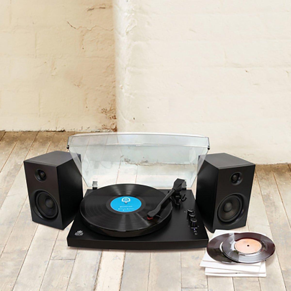 Gramofon GPO Picadilly Black