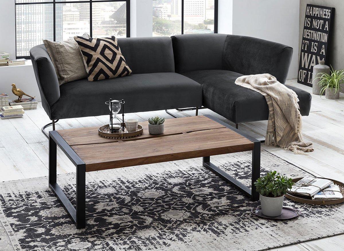 Konferenční stolek LIVE EDGE – 120 × 80 × 45 cm