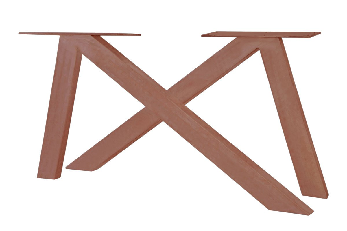 SIT MÖBEL Stolová podnož TOPS  TABLES – 136 × 13 × 72 cm