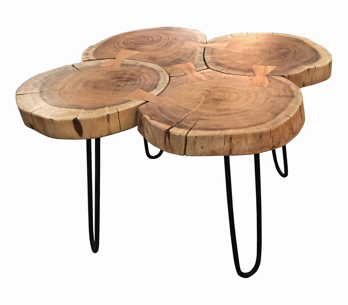 Konferenční stolek THIS & THAT – 50 × 50 × 45 cm