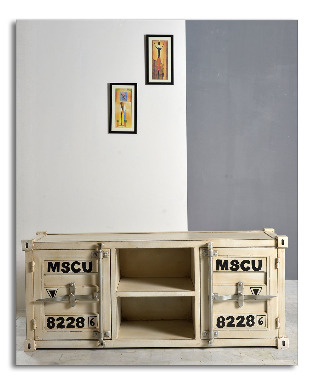 SIT MÖBEL Komoda HIGHCUBE – 130 × 40 × 55 cm