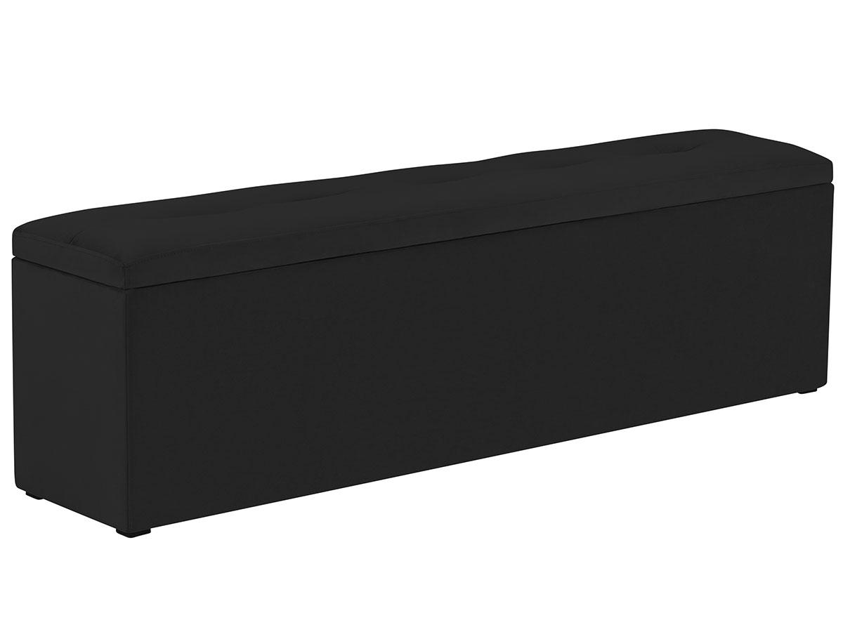 Lavice k posteli s úložným prostorem Mi – 140 × 34 × 47 cm