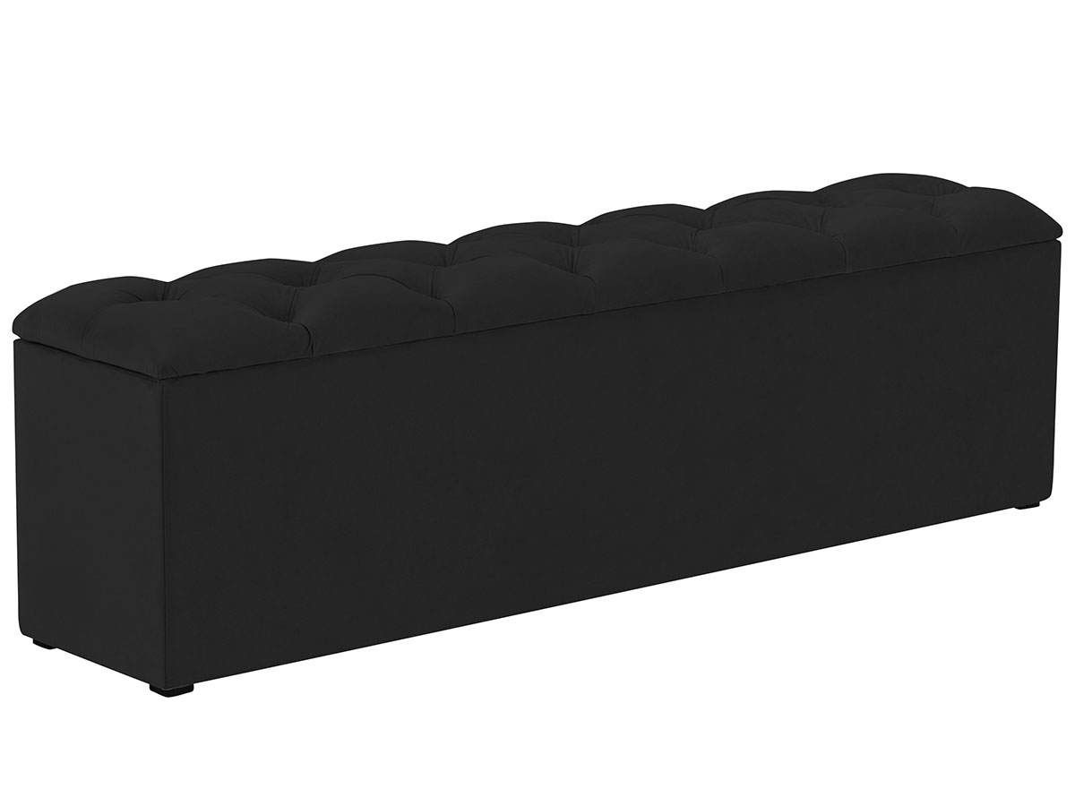 Lavice k posteli s úložným prostorem Fa – 140 × 34 × 47 cm