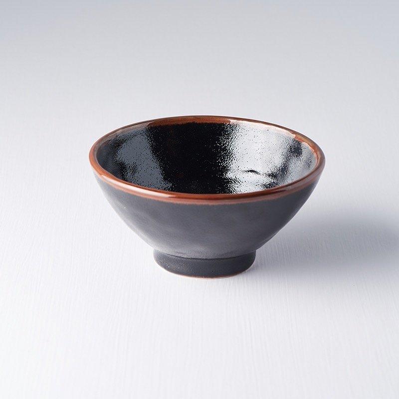 Sada 2 ks: Střední mísa Tenmokku 16 cm