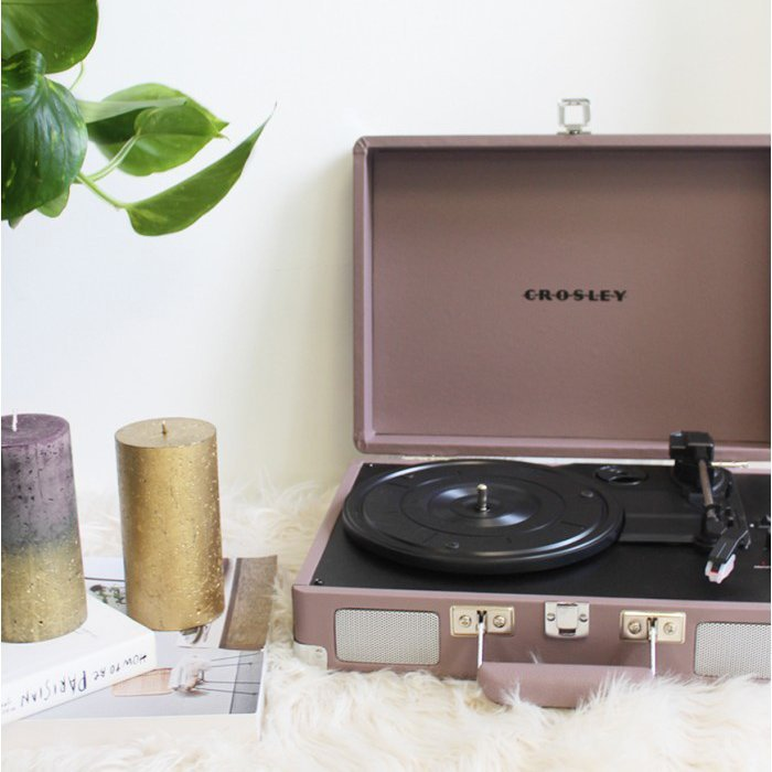 CROSLEY Gramofon Cruiser Deluxe Purple Ash