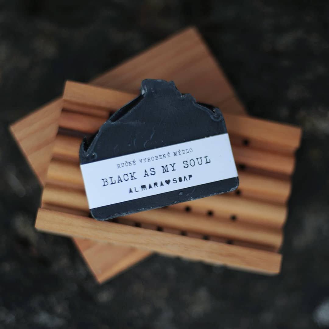 Přírodní mýdlo Black As My Soul