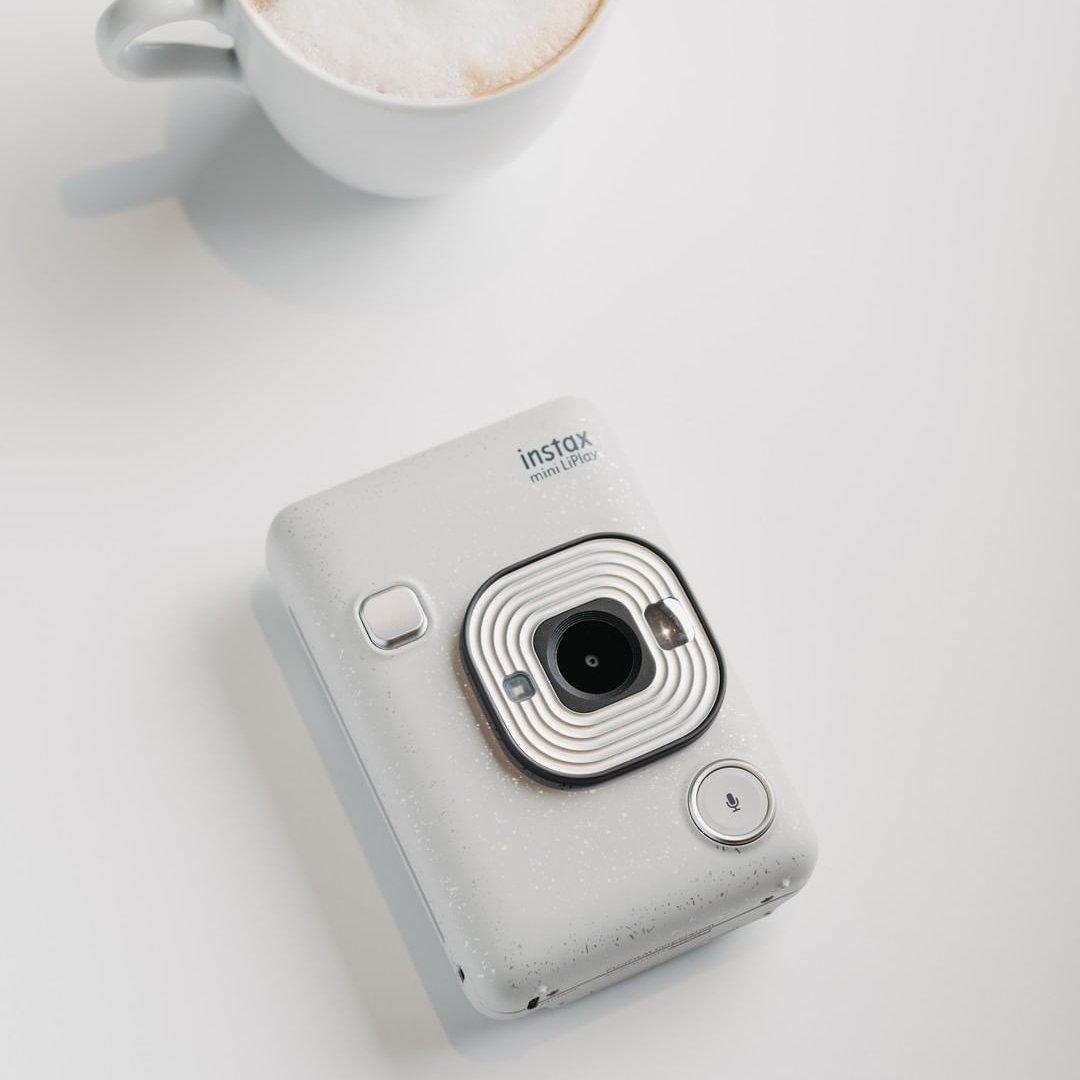 Instantní bílý fotoaparát Mini LiPlay