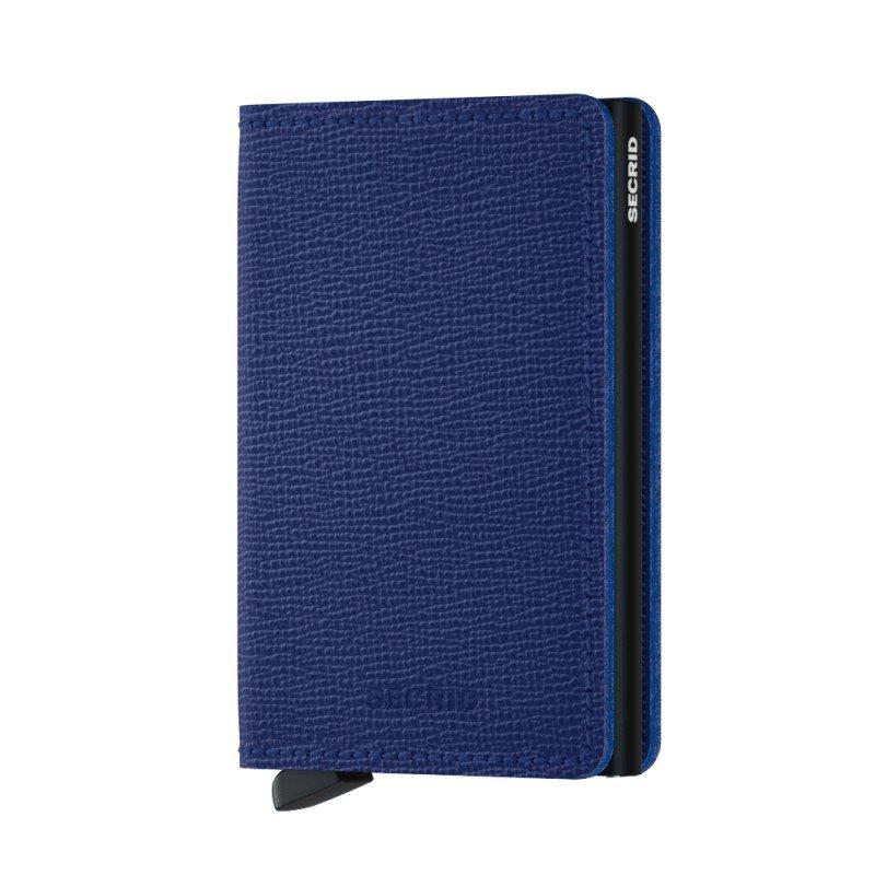 Modrá peněženka Slimwallet Crisple