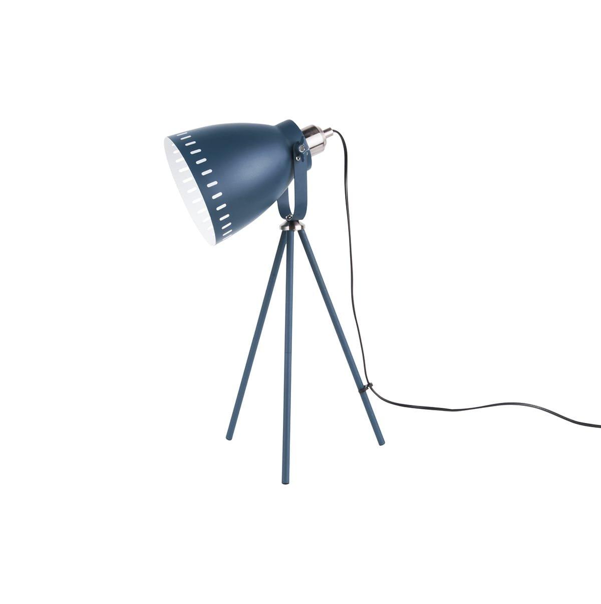 Stolní lampa Mingle 3 Legs Metal – tmavě modrá