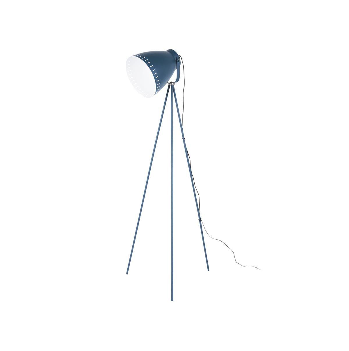 Stojací lampa Mingle 3 Legs Metal – tmavě modrá
