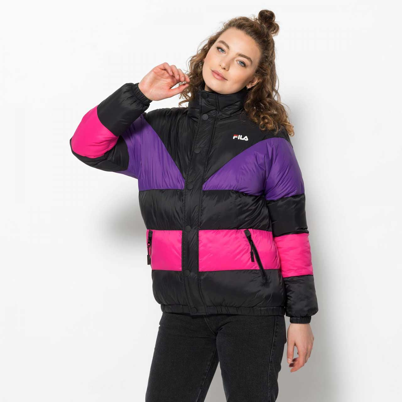FILA Barevná bunda Reilly Puff Jacket – XS