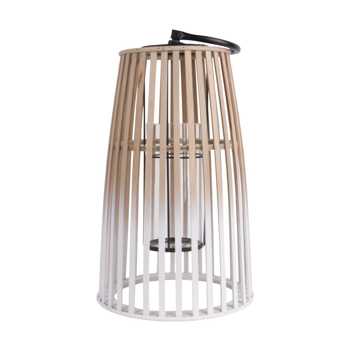 Sada 2 ks: Bambusová lucerna Atmosphere - velká