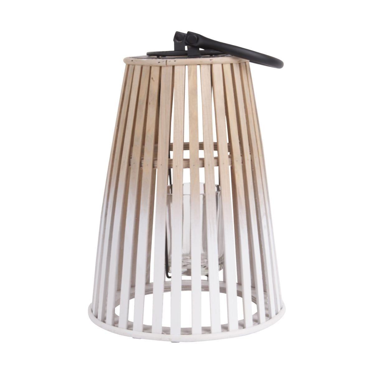 Sada 2 ks: Bambusová lucerna Atmosphere - střední