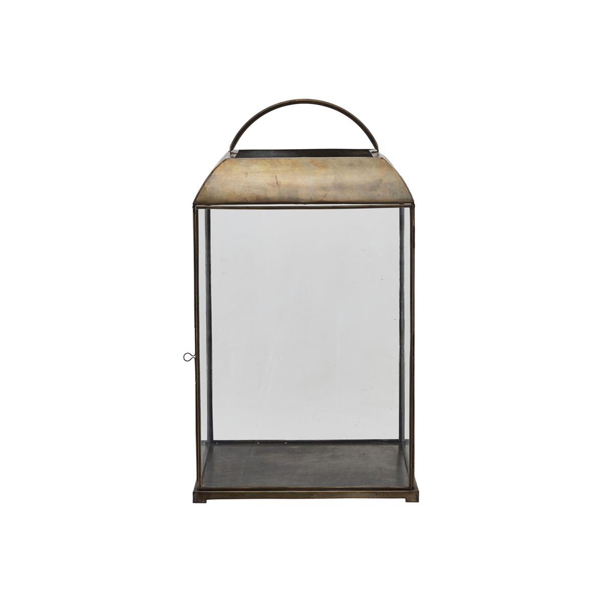 Sada 2 ks – Železná lucerna Mandurai – malá