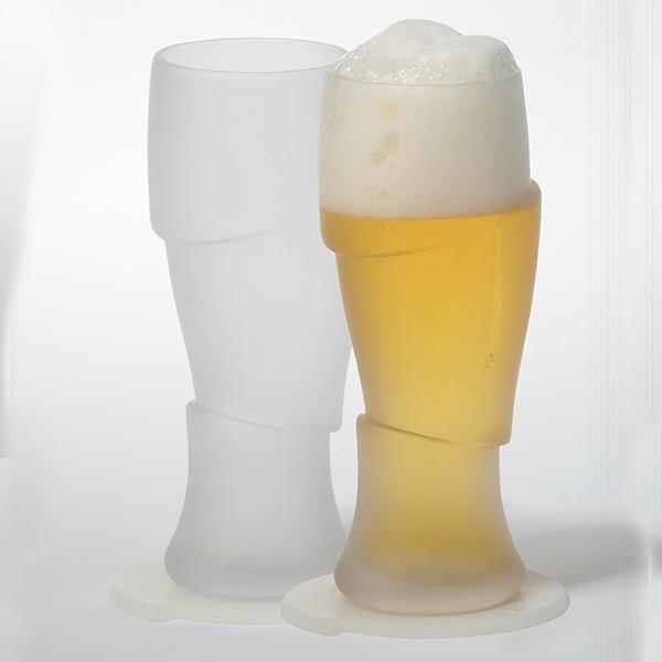 Sada 2 designových sklenic Sliced Cold