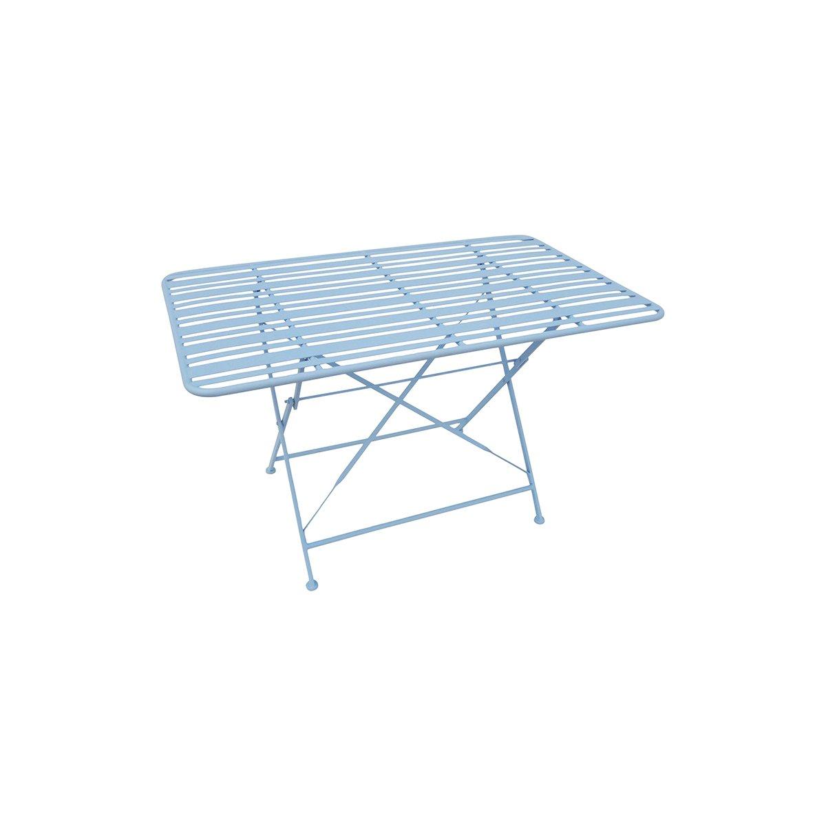 Modrý venkovní stůl Lines