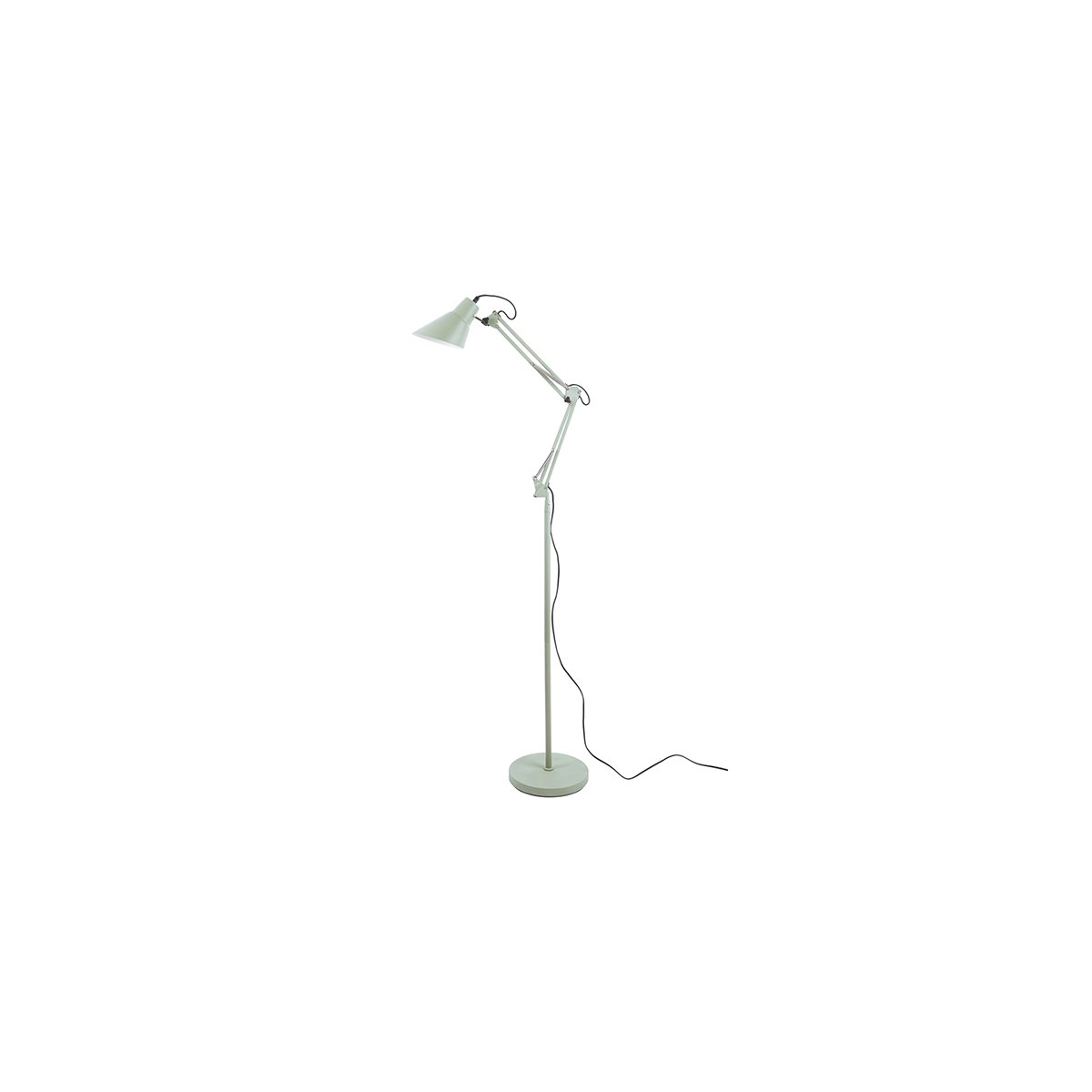 Sada 2 ks: Zelená stojací lampa Fit