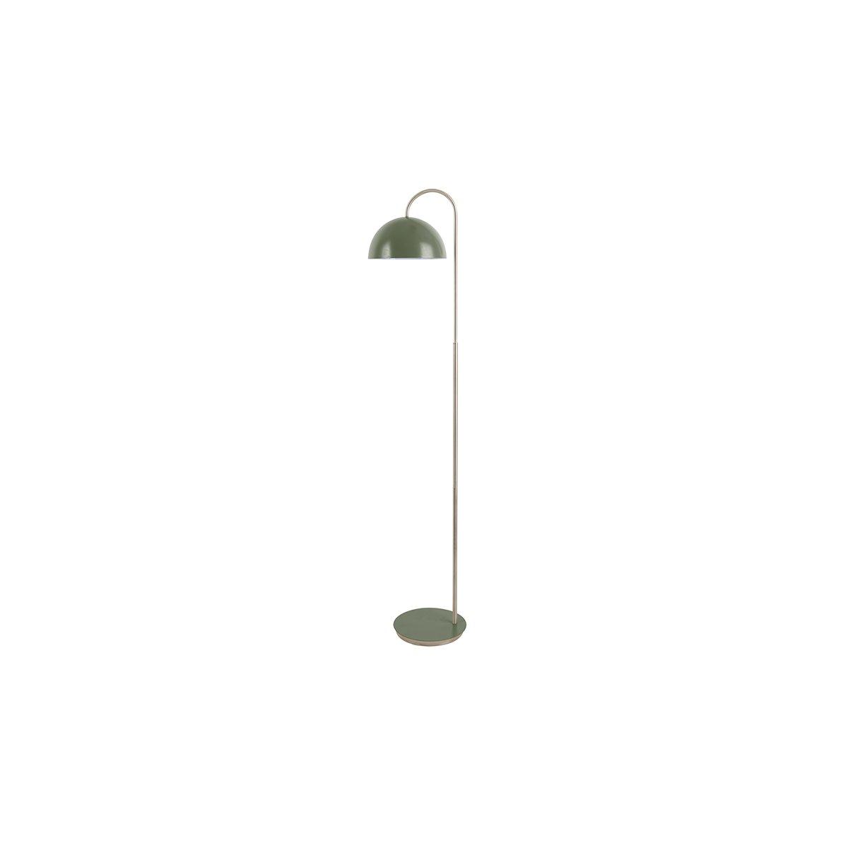 Sada 2 ks: Zelená stojací lampa Dome
