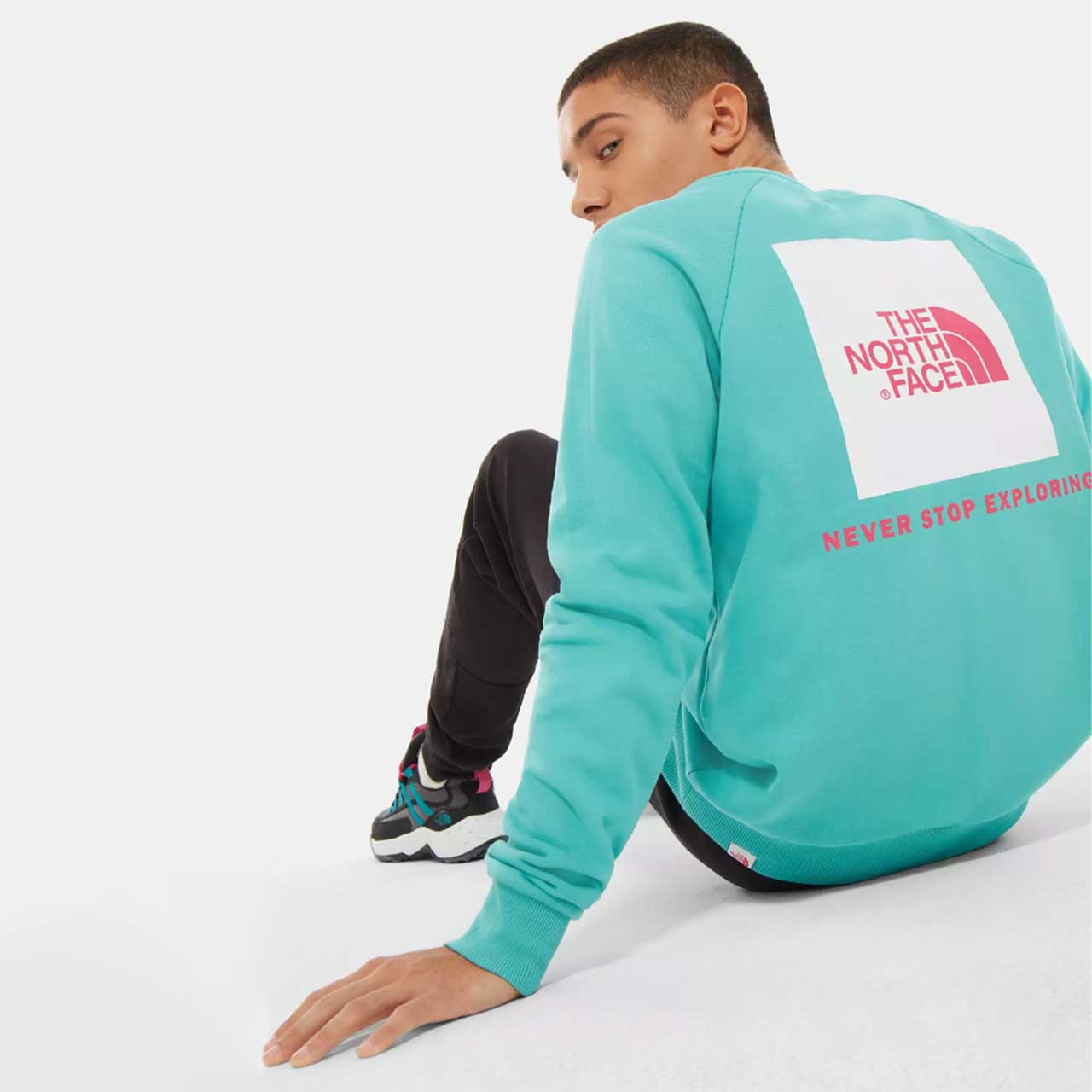 THE NORTH FACE Raglan Redbox Crew – S
