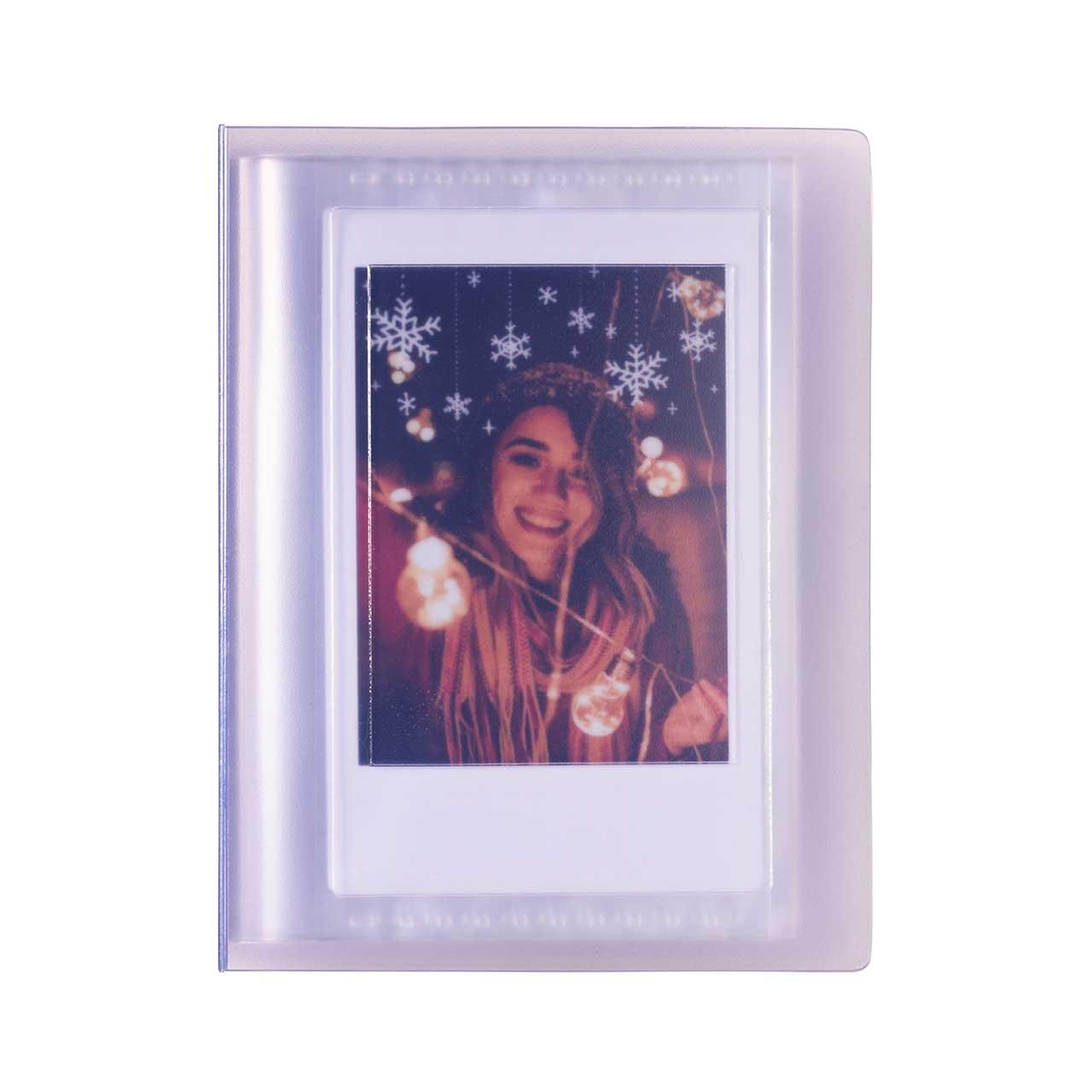 Fialový fotoalbum Mini 11