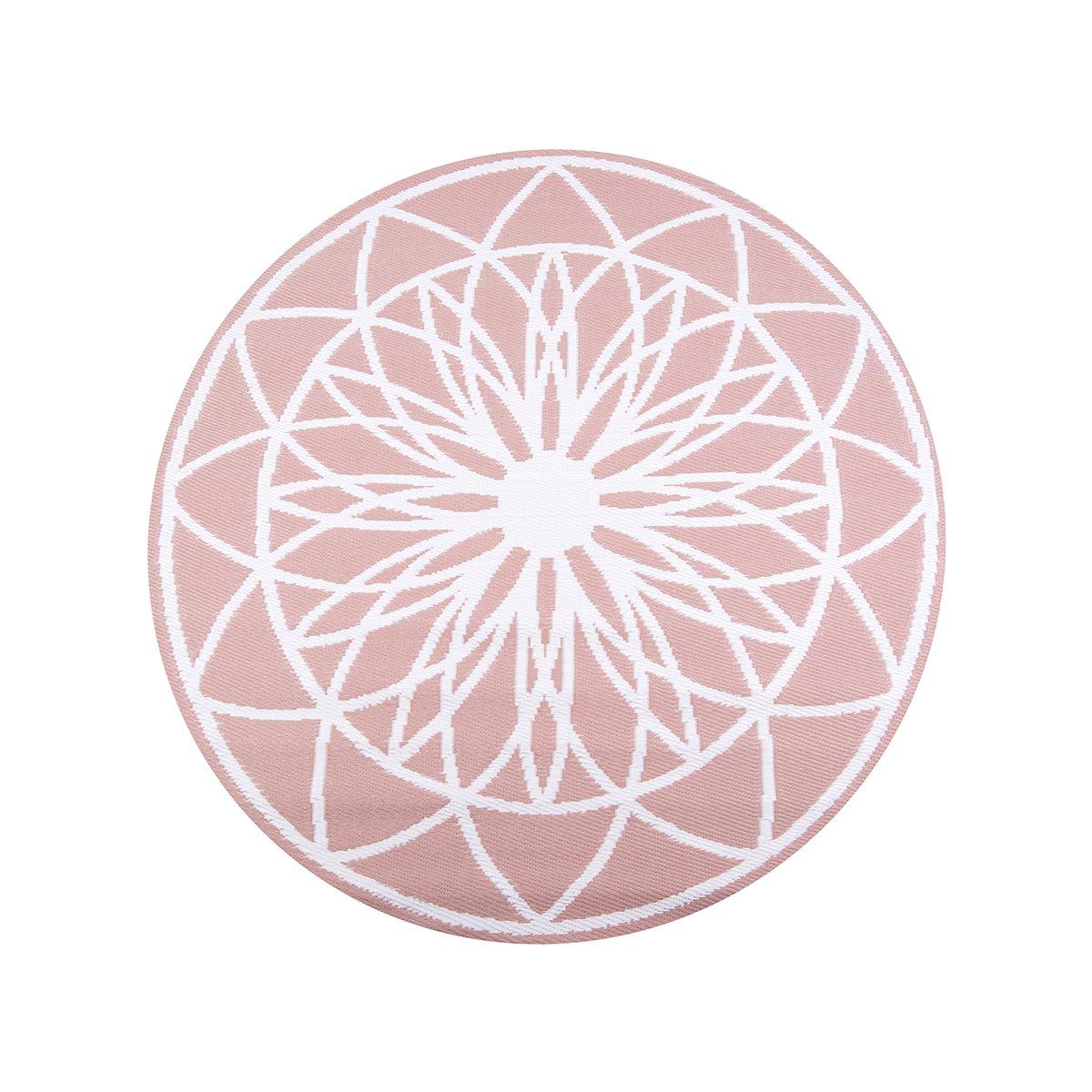 Růžový venkovní koberec Fairytale
