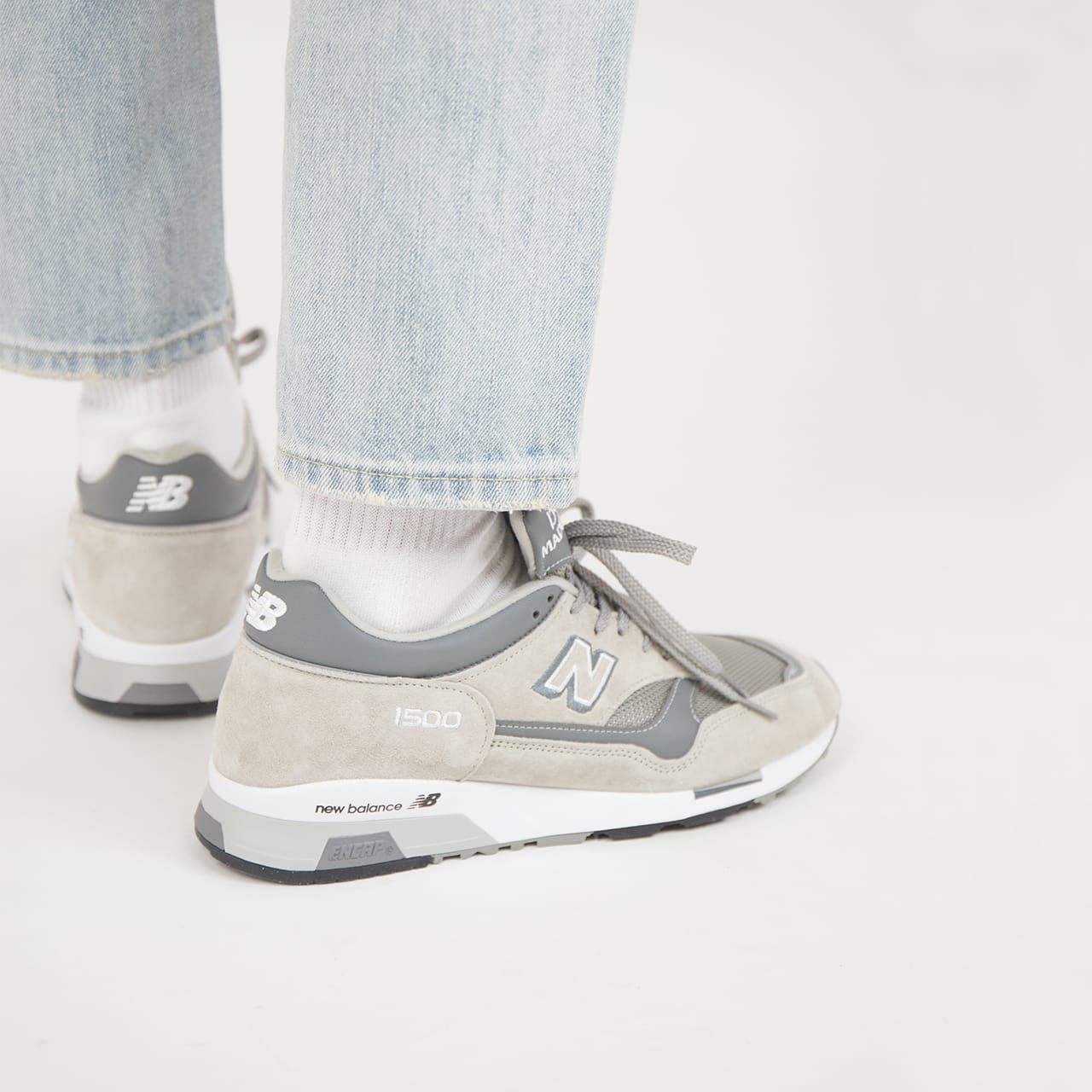 NEW BALANCE 1500 MADE IN UK – 41.5, nízké šedá