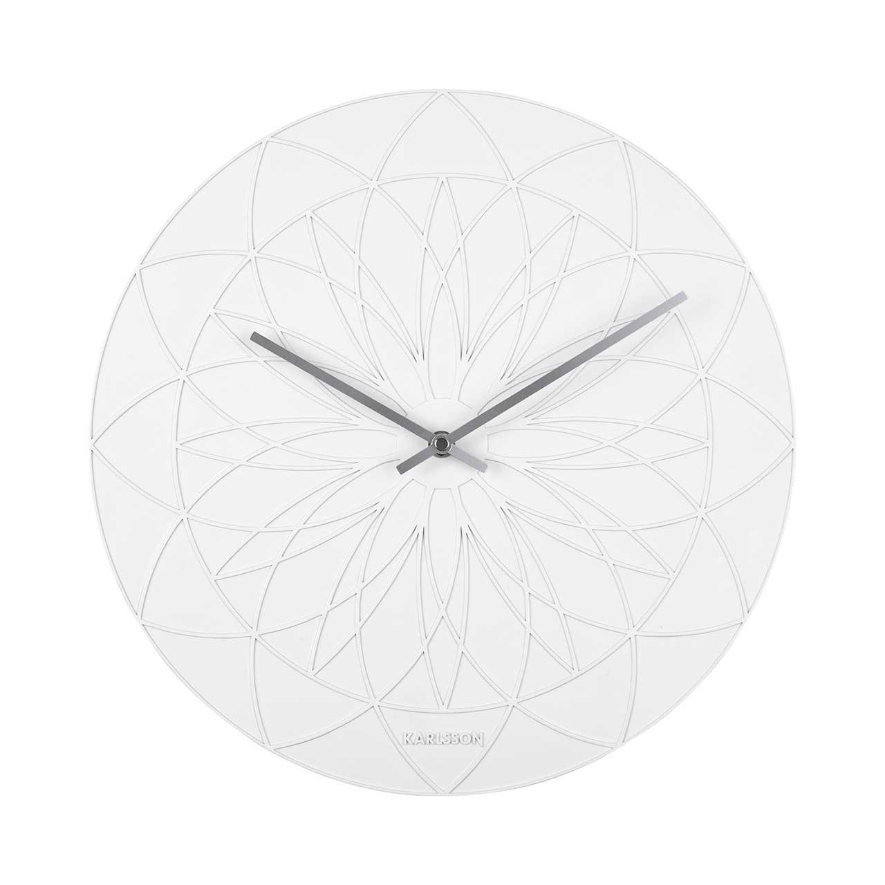 Nástěnné hodiny Fairytale – bílé