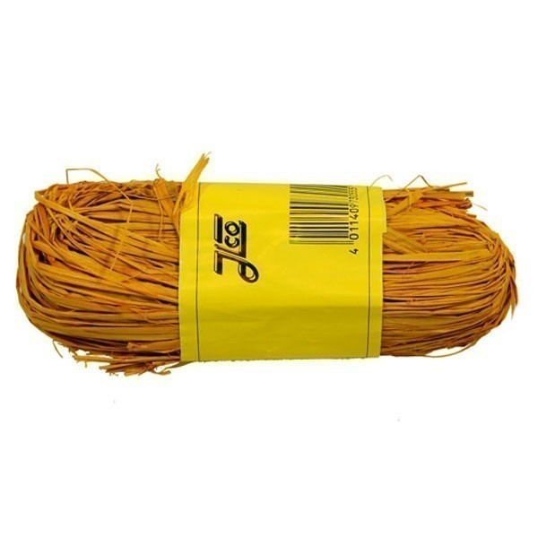 Barvené lýko Raffiabast - žluté