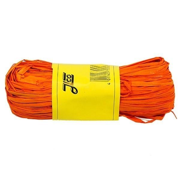 Barvené lýko Raffiabast - oranžové