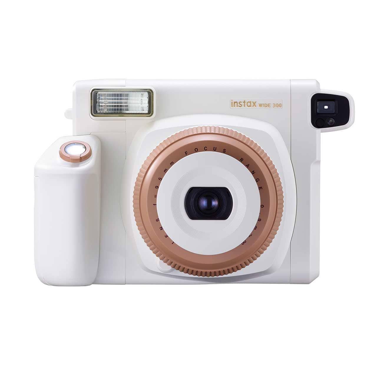 Bílý instantní fotoaparát Wide 300
