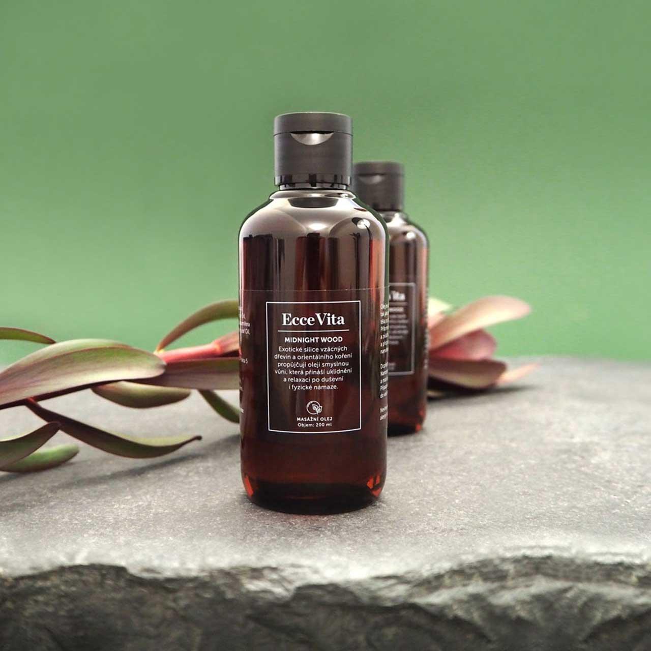 Pěstící a masážní olej Midnight Wood